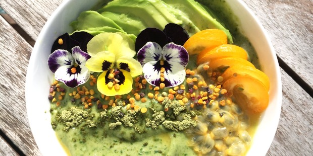 smoothie green pansy smal